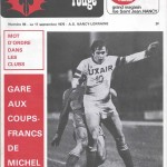 Chardon Rouge n°93 saison 76/77