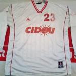 Maillot entrainement porté par Hadji , Saison 2001-2002  (Collection : ASNL-Infos)