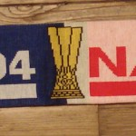 Echarpe Schalke Coupe d'Europe verso 2006 2007