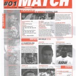 Feuille de Match n°01 05-06