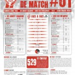 Programme Nancy-Lille (Feuille de match #01) - Saison 2011-2012 - L1 (1re j., 06/08/2011)