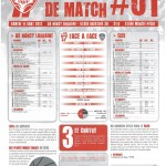 Programme Nancy-Brest (Feuille de match #01) - Saison 2012-2013 - L1 (1re j., 11/08/2012)