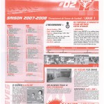 Feuille de Match n°02 07-08
