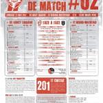 Programme Nancy-Sochaux (Feuille de match #02) - Saison 2011-2012 - L1 (3e j., 21/08/2011)