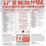 Programme Nancy-Toulouse (Feuille de match #02) - Saison 2012-2013 - L1 (3e j., 25/08/2012)