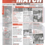 Feuille de Match n°03 04-05