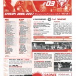 Feuille de Match n°03 06-07