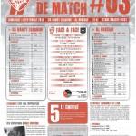 Programme Nancy-Auxerre (Feuille de match #03) - Saison 2011-2012 - L1 (5e j., 11/09/2011)