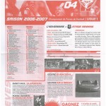 Feuille de Match n°04 06-07