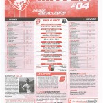 Feuille de Match n°04 08-09