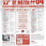 Programme Nancy-Montpellier (Feuille de match #04) - Saison 2012-2013 - L1 (7e j., 29/09/2012)