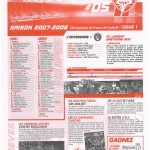 Feuille de Match n°05 07-08
