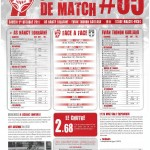 Programme Nancy-Évian TG (Feuille de match #05) - Saison 2011-2012 - L1 (9e j., 01/10/2011)