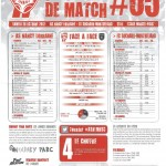 Programme Nancy-Sochaux (Feuille de match #05) - Saison 2012-2013 - L1 (9e j., 20/10/2012)