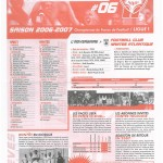 Feuille de Match n°06 06-07