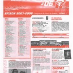 Feuille de Match n°06 07-08