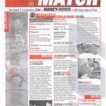 Feuille de Match n°07 04-05