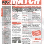 Feuille de Match n°07 05-06