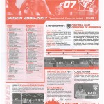 Feuille de Match n°07 06-07