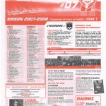 Feuille de Match n°07 07-08