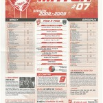 Feuille de Match n°07 08-09