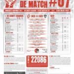Programme Nancy-Brest (Feuille de match #07) - Saison 2011-2012 - L1 (13e j., 06/11/2011)