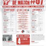 Programme Nancy-Rennes (Feuille de match #07) - Saison 2012-2013 - L1 (12e j., 09/11/2012)