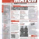 Feuille de Match n°08 04-05