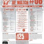 Programme Nancy-Dijon (Feuille de match #08) - Saison 2011-2012 - L1 (15e j., 26/11/2011)