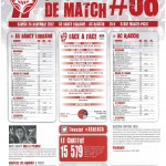 Programme Nancy-Ajaccio (Feuille de match #08) - Saison 2012-2013 - L1 (14e j., 24/11/2012)