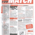 Feuille de Match n°09 05-06