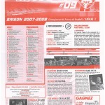 Feuille de Match n°09 07-08
