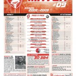 Feuille de Match n°09 08-09