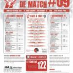 Programme Nancy-Valenciennes (Feuille de match #09) - Saison 2012-2013 - L1 (16e j., 08/12/2012)