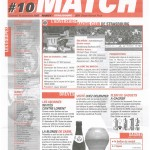 Feuille de Match n°10 05-06