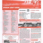 Feuille de Match n°10 07-08