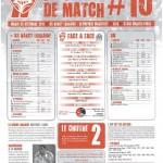Programme Nancy-Marseille (Feuille de match #10) - Saison 2011-2012 - L1 (19e j., 20/12/2011)