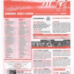 Feuille de Match n°11 07-08