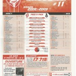 Feuille de Match n°11 08-09