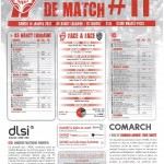 Programme Nancy-Lorient (Feuille de match #11) - Saison 2011-2012 - L1 (20e j., 14/01/2012)