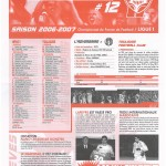 Feuille de Match n°12 06-07