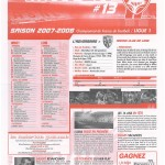 Feuille de Match n°13 07-08