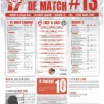 Programme Nancy-Toulouse (Feuille de match #13) - Saison 2011-2012 - L1 (24e j., 18/02/2012)