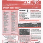Feuille de Match n°14 07-08