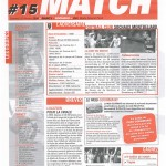 Feuille de Match n°15 05-06