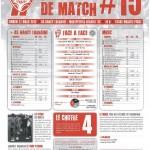 Programme Nancy-Montpellier (Feuille de match #15) - Saison 2011-2012 - L1 (28e j., 17/03/2012)