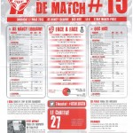 Programme Nancy-Nice (Feuille de match #15) - Saison 2012-2013 - L1 (29e j., 17/03/2013)