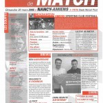 Feuille de Match n°16 04-05