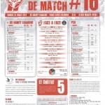 Programme Nancy-Paris SG (Feuille de match #16) - Saison 2011-2012 - L1 (30e j., 31/03/2012)