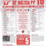 Programme Nancy-Troyes (Feuille de match #16) - Saison 2012-2013 - L1 (31e j., 06/04/2013)